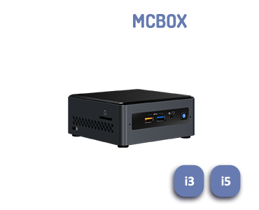 Player de diffusion interne MCBox